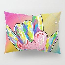 ASL I LOVE YOU Heart Pillow Sham