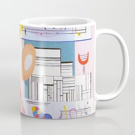 Animated Stability by Wassily Kandinsky - Vintage Painting Coffee Mug