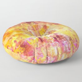 Hot Flash Floor Pillow
