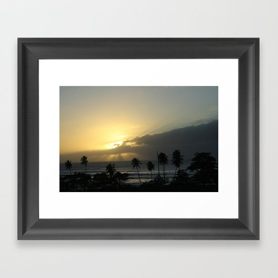 From The Nights of Paradise Framed Art Print
