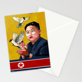 I KIM IN PEACE Stationery Cards