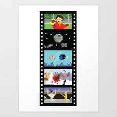 Blockbusters I Art Print