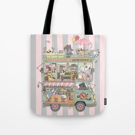 The dream car Tote Bag