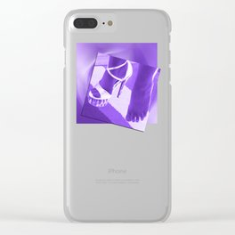 Cinders lost her shoe Clear iPhone Case