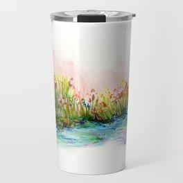 Sunrise Pond Travel Mug