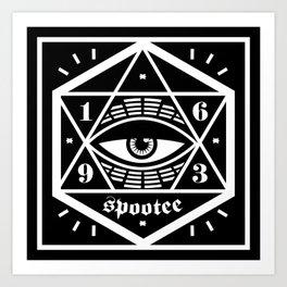 The Eye Has It Art Print