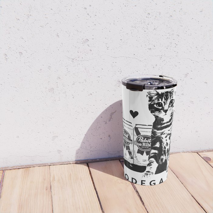 I ♥ My Bodega Cat Travel Mug