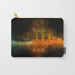 Tokyo City Skyline Hq V4 Carry-All Pouch