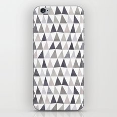 Muted Triangles Imperfect Geometry iPhone & iPod Skin