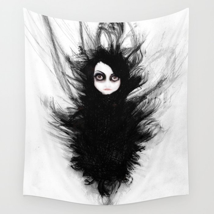 Becoming You. I'm Not Afraid Anymore Wall Tapestry
