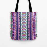 folk Tote Bags featuring FOLK by Vasare Nar