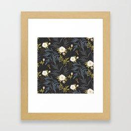 Wild Roses Framed Art Print