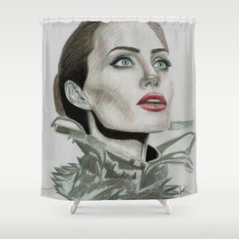 Queen Angie Shower Curtain