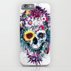 Skull Blue Slim Case iPhone 6s