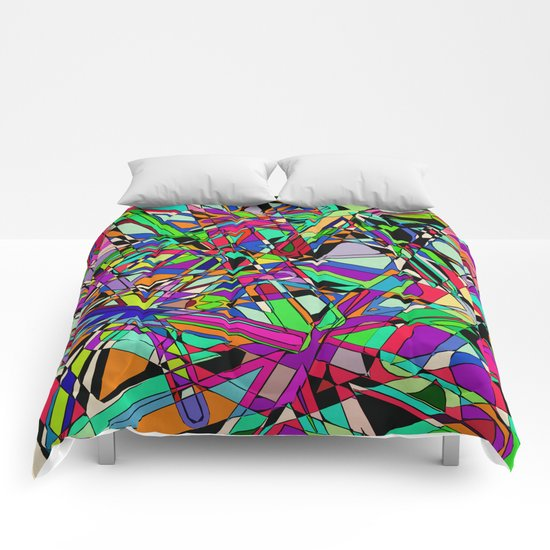 Slice and Dice Comforters