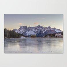 The Thin Ice Canvas Print