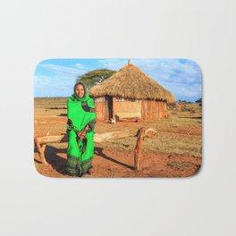 Ethiopian lady Bath Mat