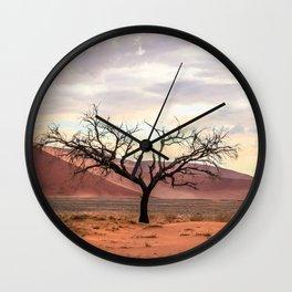 African Tree Wall Clock