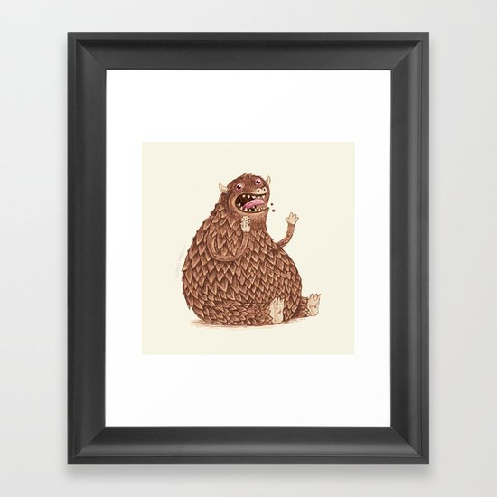More Framed Art Print