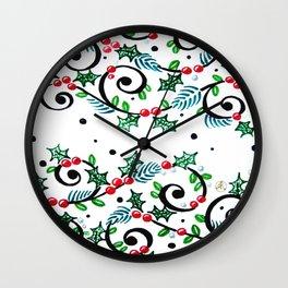 CWG Christmas Wall Clock