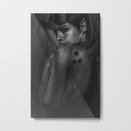 Queen of Shadows Metal Print