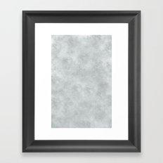 Moon Surface Framed Art Print