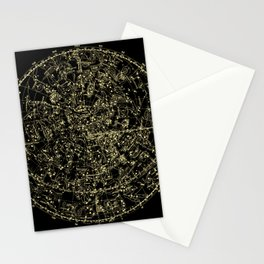 Astro Astronomy Constellations Astrologer Vintage Map Stationery Cards