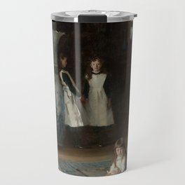 The Daughters of Edward Darley Boit by John Singer Sargent (1882) Travel Mug