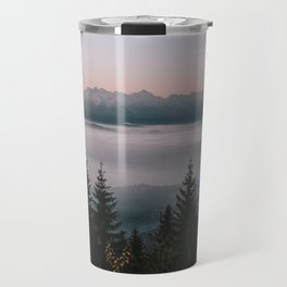 Faraway Mountains - Landscape and Nature Photography Travel Mug