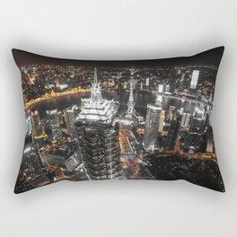 Shangaï by Night Rectangular Pillow
