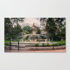 How it is Done in the South Canvas Print