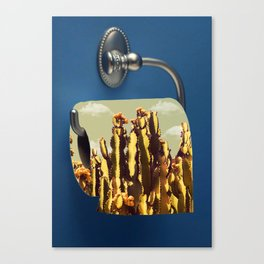 Ouch (cactus) Canvas Print