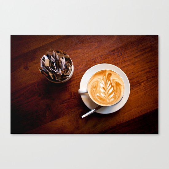 coffee IV. Canvas Print