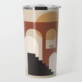 HOME - abstract minimalist art Travel Mug