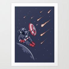 Heroic Time! Art Print