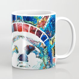 Colorful Statue Of Liberty - Sharon Cummings Coffee Mug