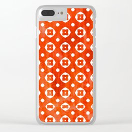 Bohemian Hot Summer Day Pattern - Mix & Match Clear iPhone Case