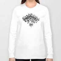 dandelion Long Sleeve T-shirts featuring Dandelion by ECMazur