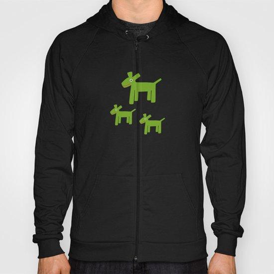 Dogs-Green Hoody