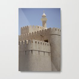 Arabian Castle Metal Print