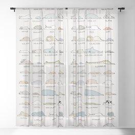 Moody Animals batch 2 Sheer Curtain
