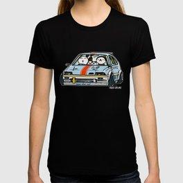 Crazy Car Art 0151 T-shirt