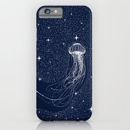 starry jellyfish iPhone Case