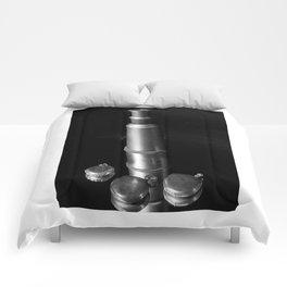 Vintage Reflections (Telescope & Pocket Watch) Comforters