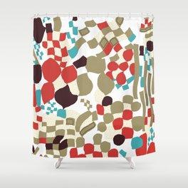 Warp Shower Curtain