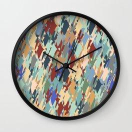 Windy Retro Orchard   Wall Clock