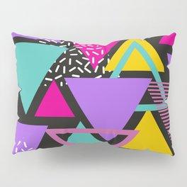 Memphis Triangles Pillow Sham