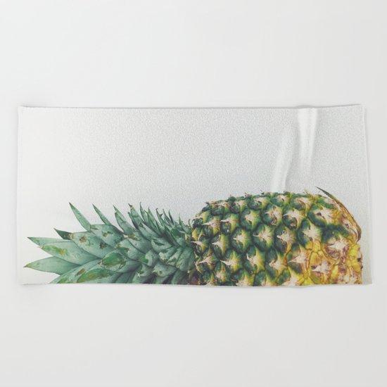Fallen Pineapple Beach Towel