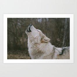 Logan Howl Art Print