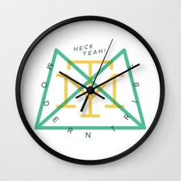 Modern Tribe Clock Wall Clock